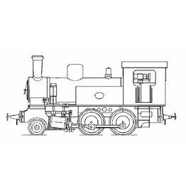 NVM 20.20.002 1B locomotief met osc. cil. Voor spoor 1