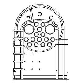 """NVM 20.20.004 ketel voor Crampton locomotief, voor 5""""-spoor (127 mm)"""