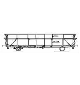 NVM 20.46.001 autotransportwagen HZ 500.000-506.000P SNCF voor spoor H0