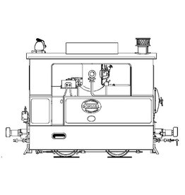 NVM 20.70.008 stoomtramlocomotief ZE 10-16 (Hohenzollern)