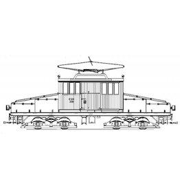 NVM 20.71.003 E-locomotief NZHVM A105, werkwagens C153-155