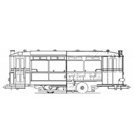 NVM 20.75.002 aanhangrijtuig RET 1399 voor spoor o of spoor I