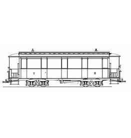 NVM 20.75.009 aanhangrijtuig NZHVM B1-7, 11, 13-16 ex HSM, voor spoor I
