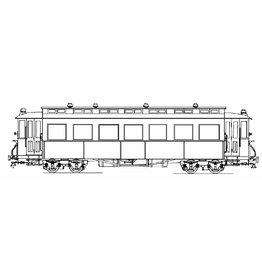 NVM 20.75.018 aanhangrijtuig NTM BC79-91/ NS BC 421-427 voor spoor I