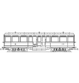 NVM 20.75.020 aanhangrijtuig NZH B101-106 voor spoor 1
