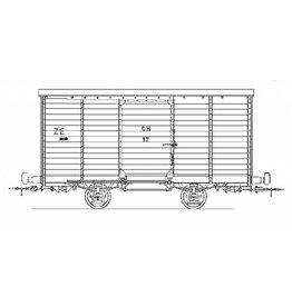 NVM 20.76.012 Gesloten goederenwagen CH17-20; Tramweg Mij. Zutphen - Emmerik