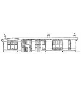 NVM 30.01.019 dienstgebouw en remise Elburg Zuiderzeetramweg