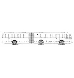 NVM 40.03.005 gelede stadsbus Mercedes Benz 01317gobl 8000/lku Hainje