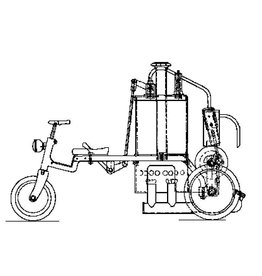 NVM 40.10.005 driewieler stoomwagen