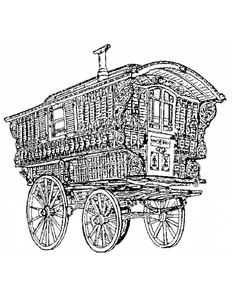 nvm 40 30 006 zigeuner woonwagen ledge waggon