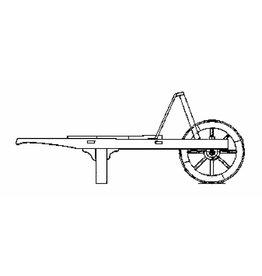 NVM 40.32.049 houten kruiwagen