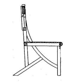 NVM 40.33.025 stoel (ca. 1920)