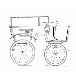 NVM 40.37.012 Bokkenwagen van H.K.H. Prinsews Wilhelmina