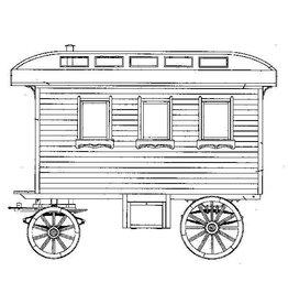 NVM 40.38.038 Hollandse woonwagen