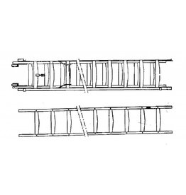 NVM 40.41.022 enkele ladder en tweedelige schuifladder