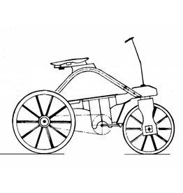 NVM 40.43.008 driewielige fiets