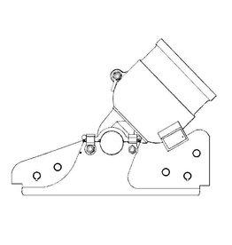 NVM 40.45.019 ijzeren stoel voor steenmortier, 39 duim