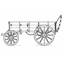 NVM 40.45.137 transportwagen Nederlandse leger vanaf 1860