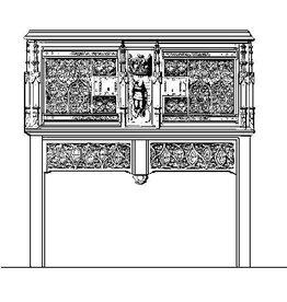 NVM 45.15.001 gothisch dressoir