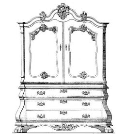 NVM 45.16.003 kabinet (Louis XV)
