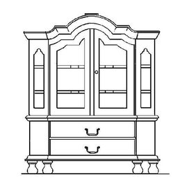 NVM 45.16.019 miniatuur kabinet