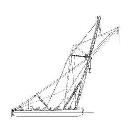 "NVM 16.19.007 drijvende bok ""Atlas"" 250 ton"
