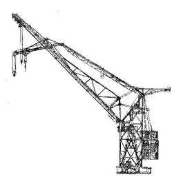 NVM 16.19.015 drijvende kraan 350 Ton