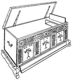 NVM 45.24.001 Noord-Duitse kist