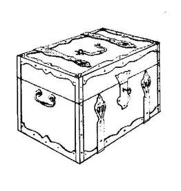 NVM 45.24.010 kistje met ijzerbeslag