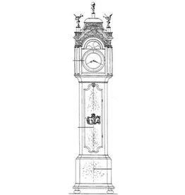 NVM 45.28.001 Hollandse staande klok