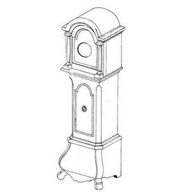 NVM 45.28.002 miniatuur staande klok