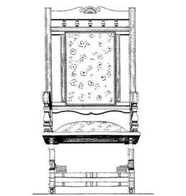 """NVM 45.37.003 schommelstoel, """"swing-rocker"""""""