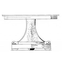 NVM 45.41.002 Empire ronde tafel