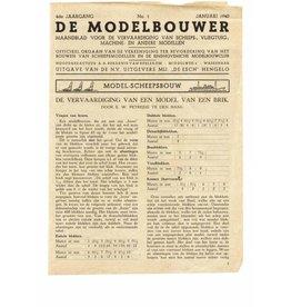 """NVM 95.40.001 Jaargang """"De Modelbouwer"""" Editie : 40.001 (PDF)"""