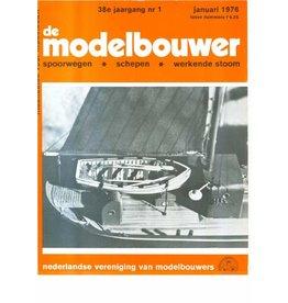 """NVM 95.76.001 Jaargang """"De Modelbouwer"""" Editie : 76.001 (PDF)"""