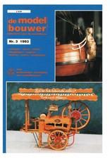 """NVM 95.93.003 Jaargang """"De Modelbouwer"""" Editie : 93.003 (PDF)"""