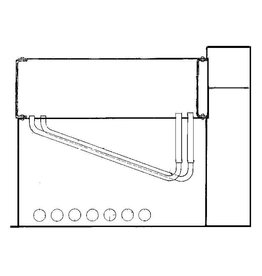 NVM 60.00.003 horizontale waterpijpketel