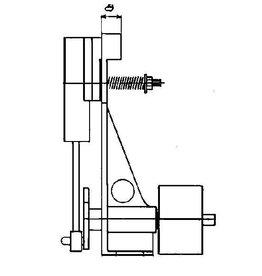 NVM 60.01.016 enkelwerkende osillerende verticale stoommachine
