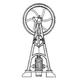 """NVM 60.01.040 verticale stoommachine """"v.Everdingen en Evrard"""""""