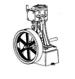NVM 60.01.056/A Vertikale ?ncilinder stoommachine