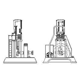 NVM 60.12.001 vertikale heteluchtmotor