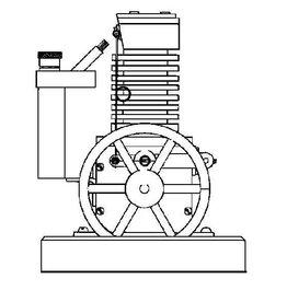 NVM 60.12.004 Happer motor, vacuummotor, of vlamhapper
