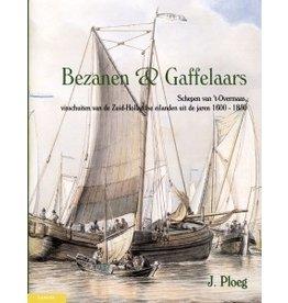 Lanasta 74.10.100 Bezanen & Gaffelaars; Schepen van 't Overmaas, visschuiten van de Zuid-Hollandse eilanden