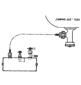 NVM 80.00.015 Vulsysteem voor gastankjes