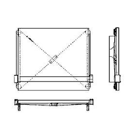 NVM 80.00.026 tekenbord met parallelgeleiding