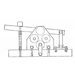 NVM 80.00.041 Bandenwals voor houten wagenwielen