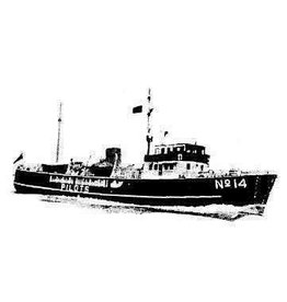 """NVM 10.18.024 loodsboot No. 14 """"Pathfinder"""" (1961) - Corp. of Trinity House"""