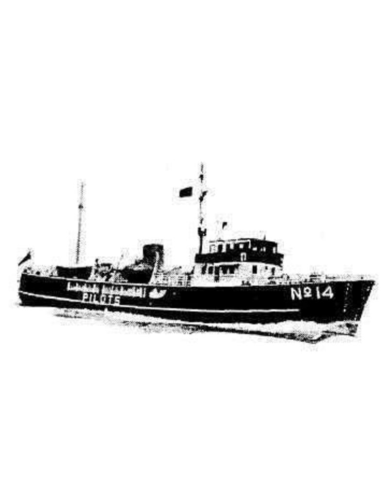 "NVM 10.18.024 loodsboot No. 14 ""Pathfinder"" (1961) - Corp. of Trinity House"