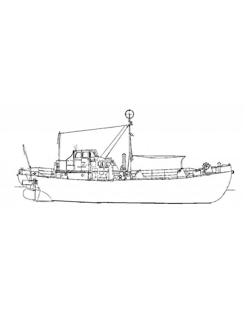 "NVM 10.17.011 motorreddingboot ""Carlot"" (1960) - KNZHRM"