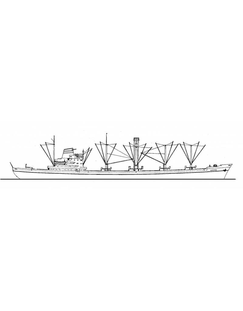 """NVM 10.20.019 vrachtschip ms """"Gaasterdijk"""" (1960) - HAL"""